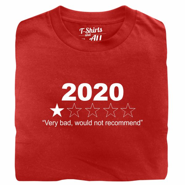 2020 bootle red t-shirt