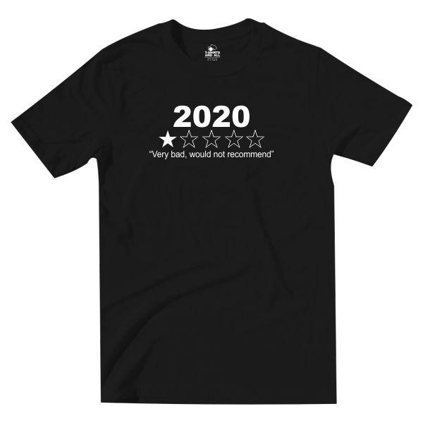 2020 kids black t-shirt