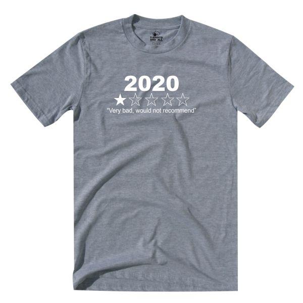 2020 kids grey t-shirt
