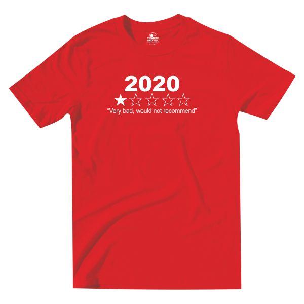 2020 kids red t-shirt