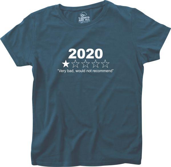2020 woman navy t-shirt