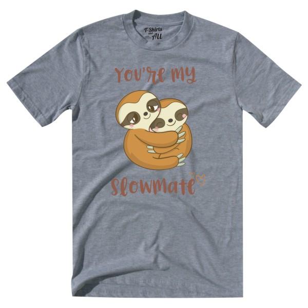 slowmate grey tshirt