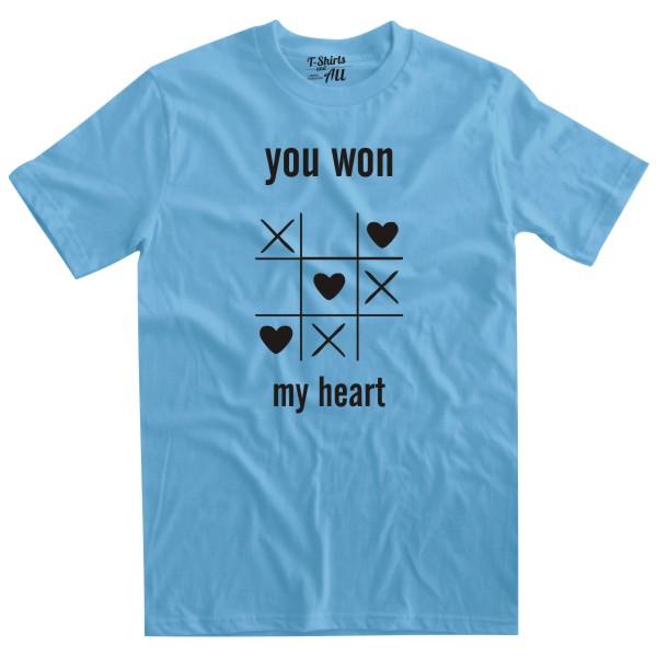 youwonmyheart skyblue tshirt
